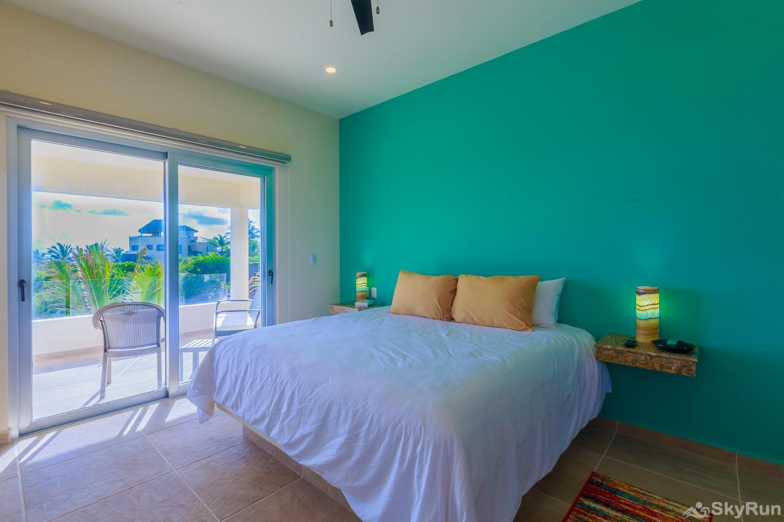 NEW and Unique Residencial Home Prime Location Isla Mujeres King Bedroom